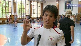 Сборная Японии по вольной борьбе приехала на сборы в Дагестан