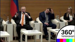 Титов, Грудинин и Собчак не пришли на дебаты с Жириновским