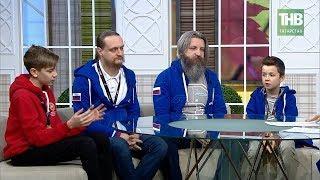 В гостях золотые медалисты Всемирной олимпиады роботов в Таиланде. Здравствуйте | ТНВ