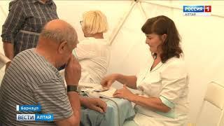 Более 100 барнаульцев прошли экспресс-диагностику здоровья