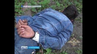 Полиция опубликовала видео задержания убийцы калининградки на улице Киевской