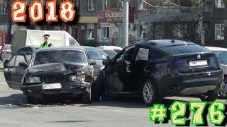 Дураки и дороги Подборка ДТП 2018 Сборник безумных водителей # 276