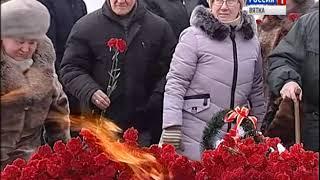 Возложение цветов к Вечному огню(ГТРК Вятка)