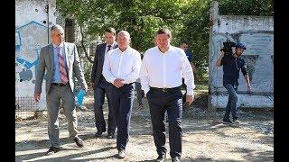 В Ворошиловском районе задан хороший темп развития инфраструктуры