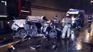 ДТП 10 марта в Сочи: Lexus столкнулся с рейсовым автобусом