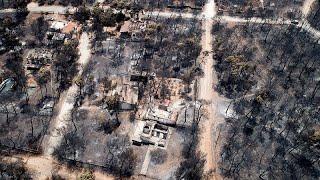 Пожары в Греции: как это было?