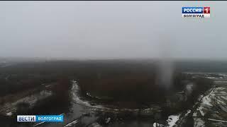 Подрыв льда в Елани 4.04.2018