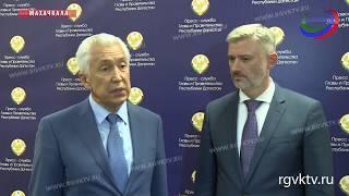 Глава республики и министр транспорта РФ обсудили вопросы транспортной инфраструктуры Дагестана