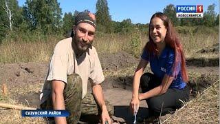 Новосибирские археологи ведут раскопки в Сузунском районе