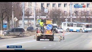 В Марий Эл ограничено дорожное движение в Йошкар-Оле и на трассе «Йошкар-Ола – Уржум»