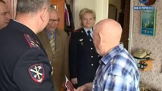 Пензенские силовики поздравили ветеранов с Днем Победы