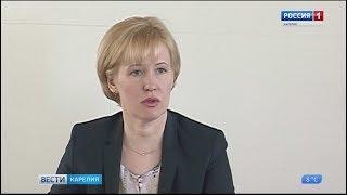Ирина Мирошник на встрече с журналистами