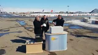 Юрий Трутнев заложил капсулу в аэропорту Хабаровска