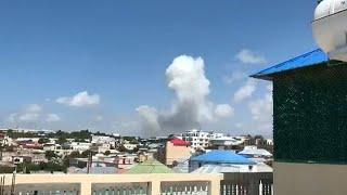 Мощный взрыв в Могадишо