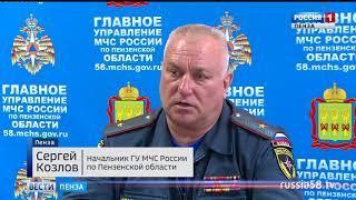 С приходом тепла в Пензенской области произошло свыше 20 пожаров