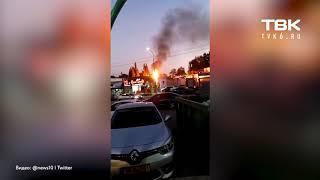 Атака на Израиль и ракеты по сектору Газа