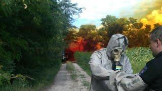 Днепропетровщине грозит масштабная катастрофа: ядовитый дым уничтожает все живое, кадры происшествия
