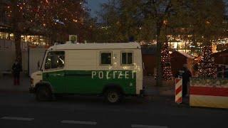В Берлине открылась предновогодняя ярмарка