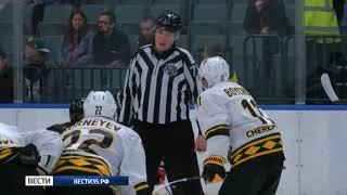 Хоккейная «Северсталь» проиграла второй матч на турнире имени Николая Пучкова