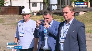 «Алтайгеомаш» презентовал буровую установку нового поколения