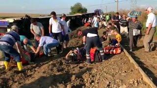 Железнодорожная катастрофа в Турции