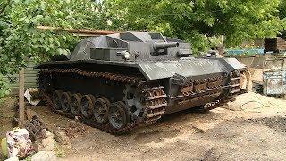 Волгоградский конструктор собрал немецкую самоходную артиллерийскую установку