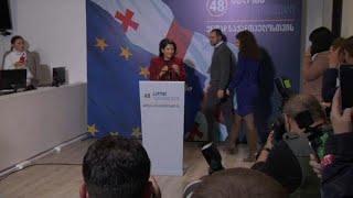 Грузия: бывший дипломат становится президентом страны
