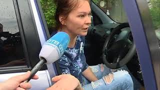 Водитель хэтчбека не уступил дорогу и спровоцировал ДТП на Фирсова