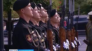 В Калининграде отметили столетнюю годовщину окончания Первой мировой войны