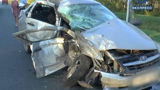 На трассе «Тамбов-Пенза» произошла авария, есть пострадавшие