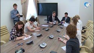 В правительстве области состоялся брифинг, посвященный запуску проекта «Кадры будущего для регионов»