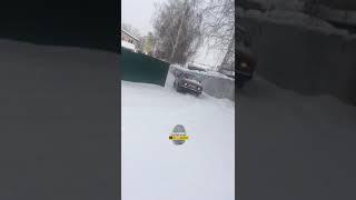 Новосибирск. ДТП на ровном месте.