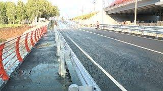 В Саранске улицу Рабочую и остальной город соединил новый мост