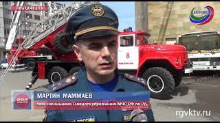 В Русском театре прошли масштабные пожарно-тактические учения