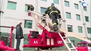 В Великом Новгороде прошла учебная эвакуация главного здания «Сбербанка»