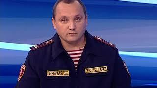 Гость студии «Вестей» - начальник Управления вневедомственной охраны Сергей Карпычев