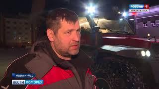 Участники полярной экспедиции «Север без преград» финишировали в Нарьян-Маре