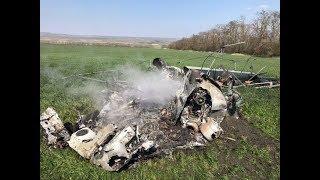На Ставрополье упал вертолет Ми-2. Есть пострадавшие