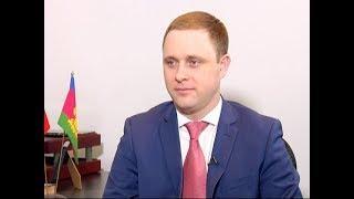 Вице-губернатор Краснодарского края Василий Швец дал интервью телеканалу «Кубань 24»