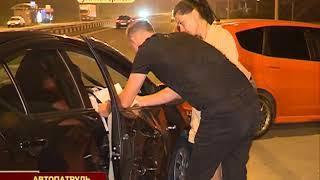 Резкий маневр автолюбительницы спровоцировал массовое ДТП на Катерной