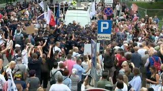 Протесты в Польше на фоне судебной реформы