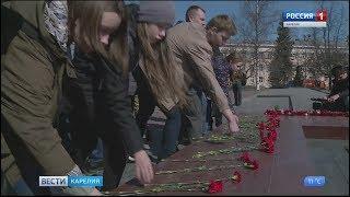 В Петрозаводске открыли республиканский этап Всероссийской акции «Вахта Памяти»