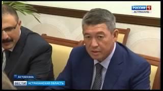 Более 50 казахстанских компаний представили в Астрахани свои товары