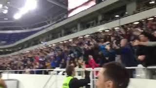 Первый гол на новом стадионе в Калининграде