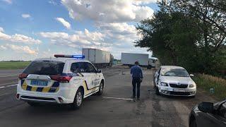 На Броварській кільцевій дорозі (32-ий кілометр) відбулося #ДТП з потерпілими