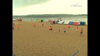 Фанаты со всего мира проводят на набережной Самары товарищеские матчи