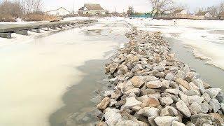 В районах Волгоградской области мониторят паводковую обстановку