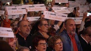 """Каталония: """"Год позора - год достоинства"""""""