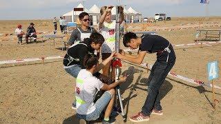 Югорские школьники запустили ракеты в Байконуре