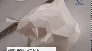 Бумагу как арт-объект представили в Белгороде